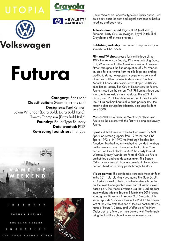 Futura | Zemni Book Design